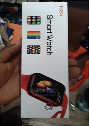 T55+ Smartwatch | Smart Watches & Trackers for sale in Lagos State, Ikeja