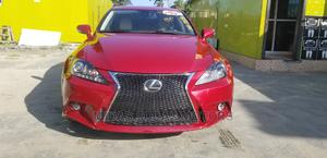 Lexus IS 2010 250 AWD Automatic Red | Cars for sale in Lagos State, Lekki