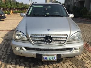 Mercedes-Benz M Class 2003 ML 350 Silver | Cars for sale in Anambra State, Nnewi