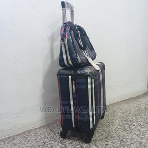 All Round Wheel Blue Hardcase Trolley Luggage Bag | Bags for sale in Lagos State, Ikeja
