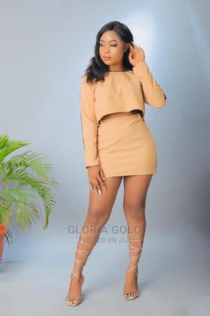 Servethequeen 2 Piece Set Crop Top and Mini Skirt | Clothing for sale in Lagos State, Alimosho