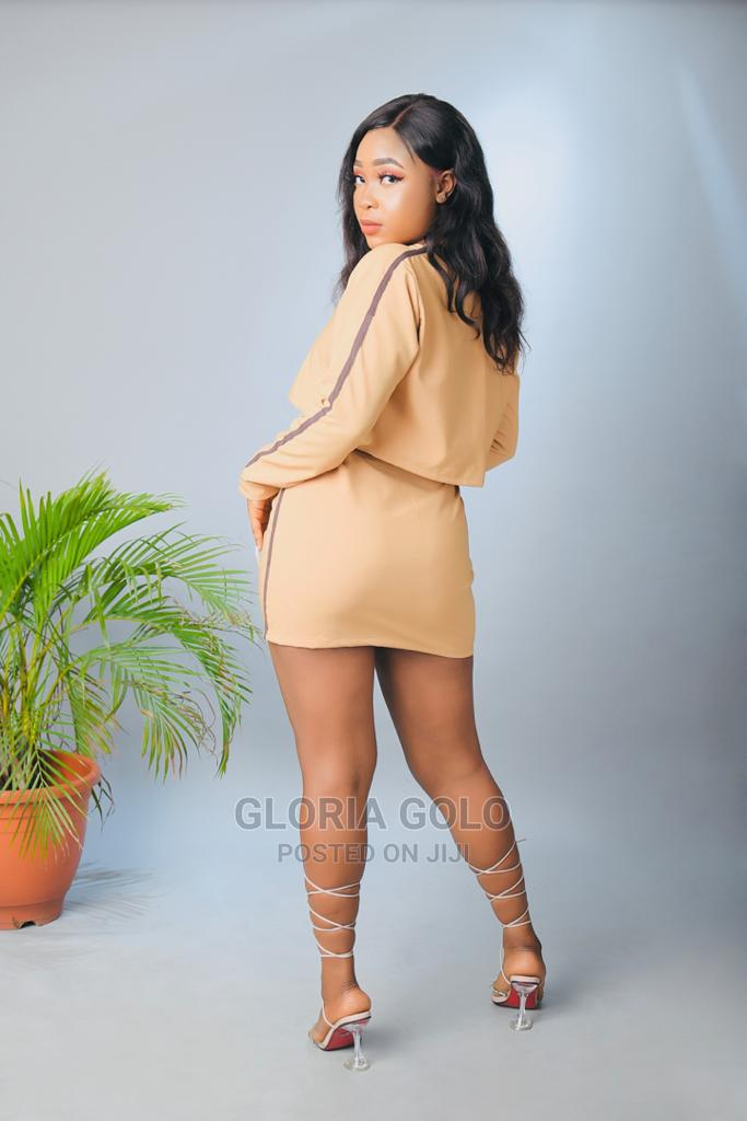 Servethequeen 2 Piece Set Crop Top and Mini Skirt | Clothing for sale in Alimosho, Lagos State, Nigeria