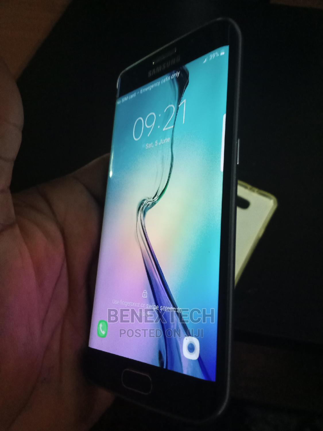 Samsung Galaxy S6 edge 32 GB Blue   Mobile Phones for sale in Ajah, Lagos State, Nigeria