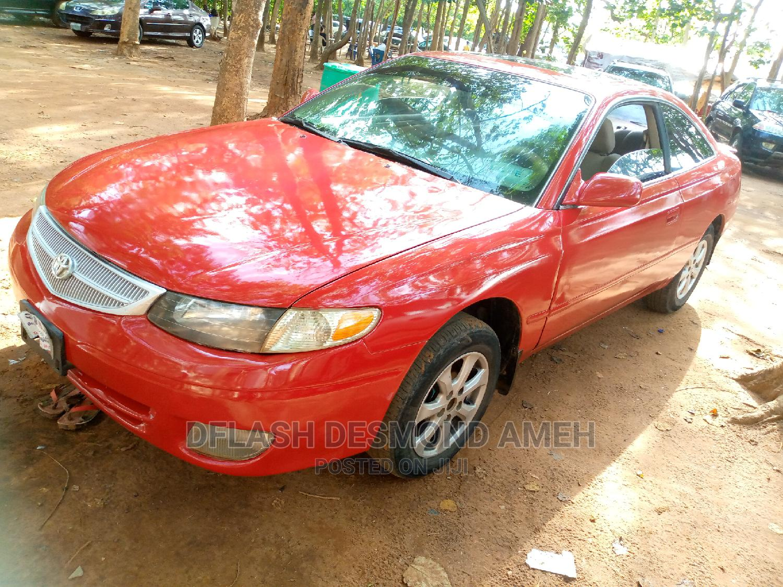 Archive: Toyota Solara 2004 Red