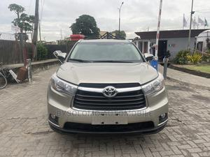 Toyota Highlander 2015 Gold | Cars for sale in Lagos State, Ikoyi