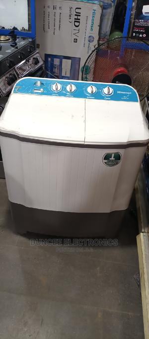 Hisense 10kg Top Loader Washing Machine   Home Appliances for sale in Lagos State, Ojo