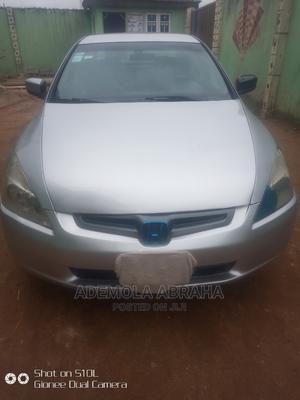 Honda Accord 2003 Silver   Cars for sale in Lagos State, Ifako-Ijaiye