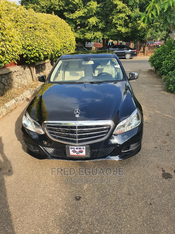 Mercedes-Benz E350 2015 Black
