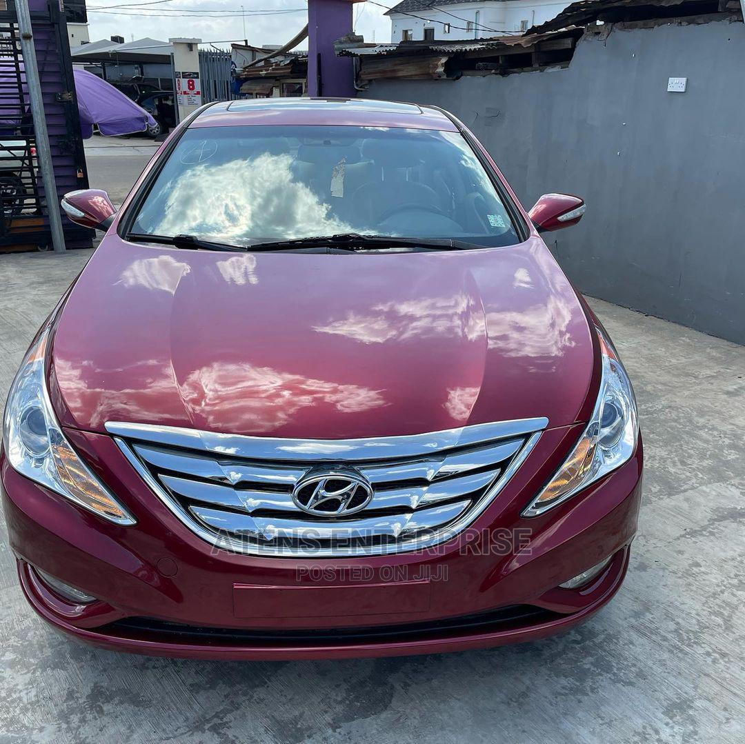 Hyundai Sonata 2011 Red   Cars for sale in Ogba, Lagos State, Nigeria