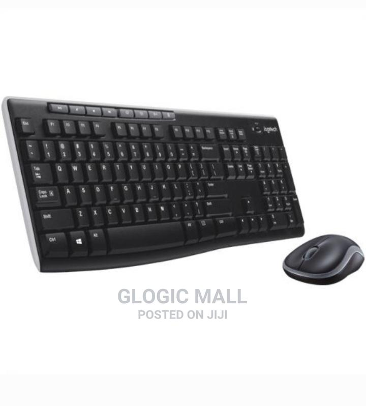 Archive: Logitech MK270 Wireless Keyboard and Mouse Combo