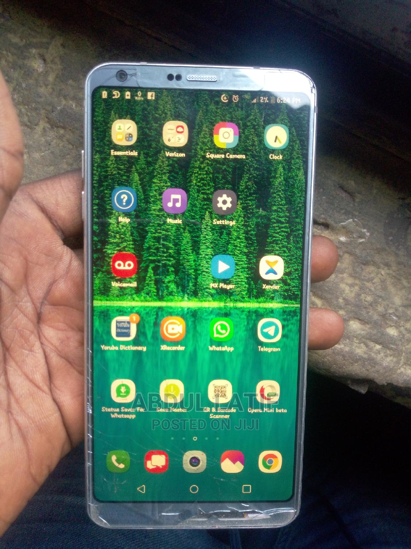 LG G6 32 GB Silver