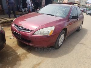 Honda Accord 2004 Automatic Red | Cars for sale in Lagos State, Ikeja