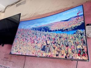 "U K Used Samsung 49"" Curve 4k Smart TV | TV & DVD Equipment for sale in Lagos State, Shomolu"