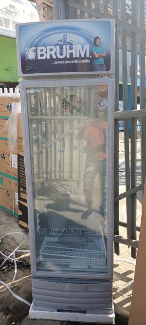 Bruhm Standing Showcase Fridge-329 Liters-4 Steps | Kitchen Appliances for sale in Lagos State, Ojo
