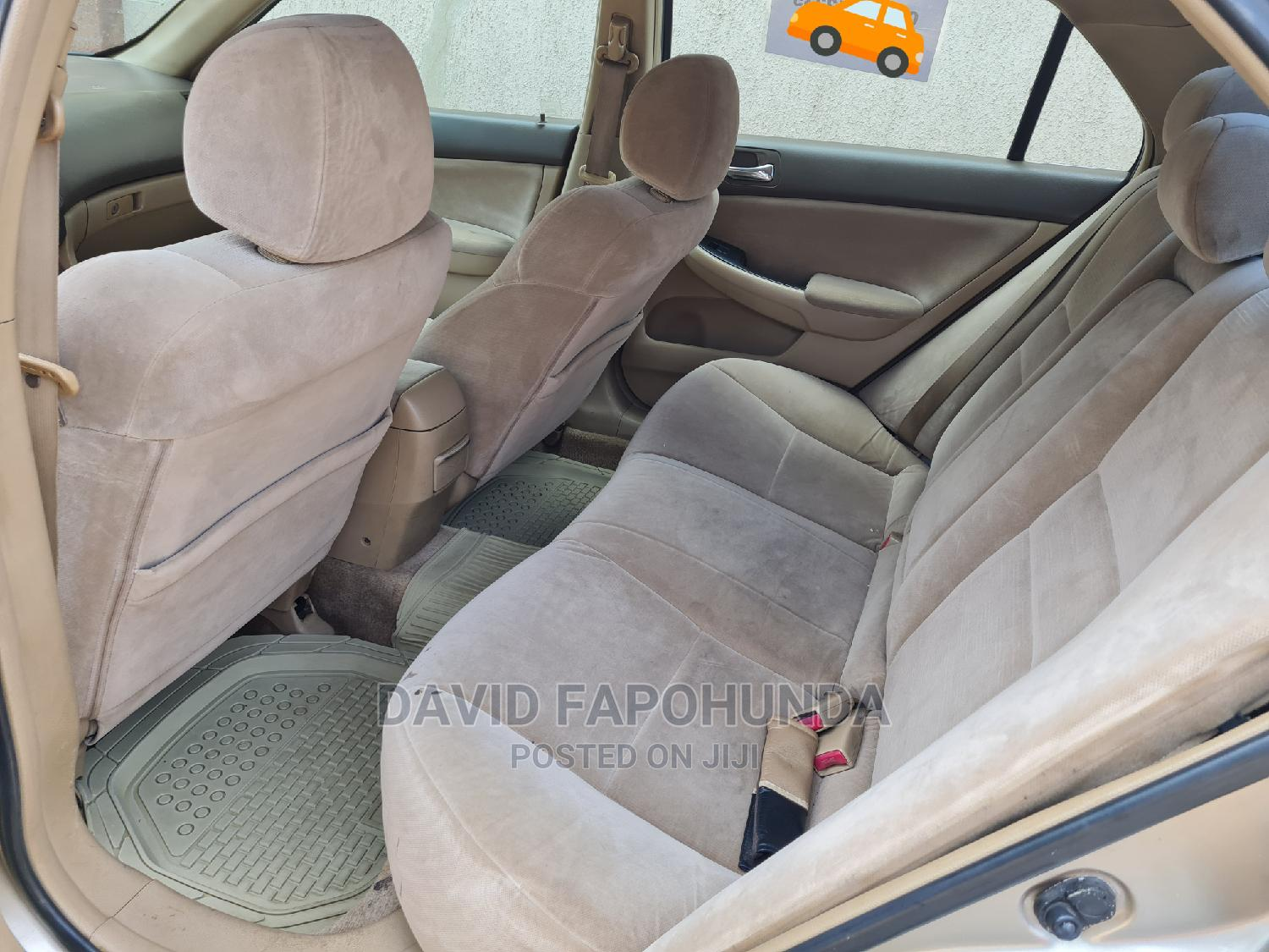 Honda Accord 2007 2.4 Exec Automatic Gold | Cars for sale in Ikeja, Lagos State, Nigeria