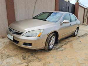 Honda Accord 2007 2.4 Exec Automatic Gold | Cars for sale in Lagos State, Ikeja