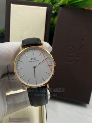 Quality Daniel Wellington Leather Band Watch   Watches for sale in Lagos State, Lagos Island (Eko)