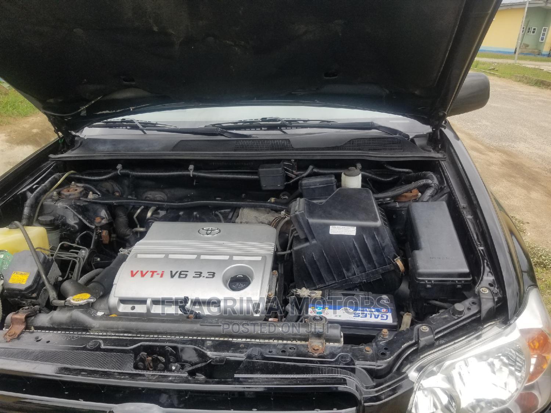 Toyota Highlander 2005 Limited V6 Black   Cars for sale in Ikeja, Lagos State, Nigeria