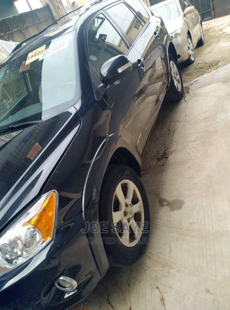 Toyota RAV4 2010 3.5 Limited 4x4 Black | Cars for sale in Ikeja, Lagos State, Nigeria