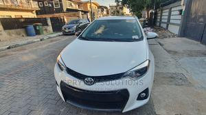 Toyota Corolla 2014 White   Cars for sale in Lagos State, Surulere