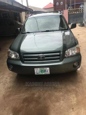 Toyota Highlander 2007 Green | Cars for sale in Ogun State, Sagamu