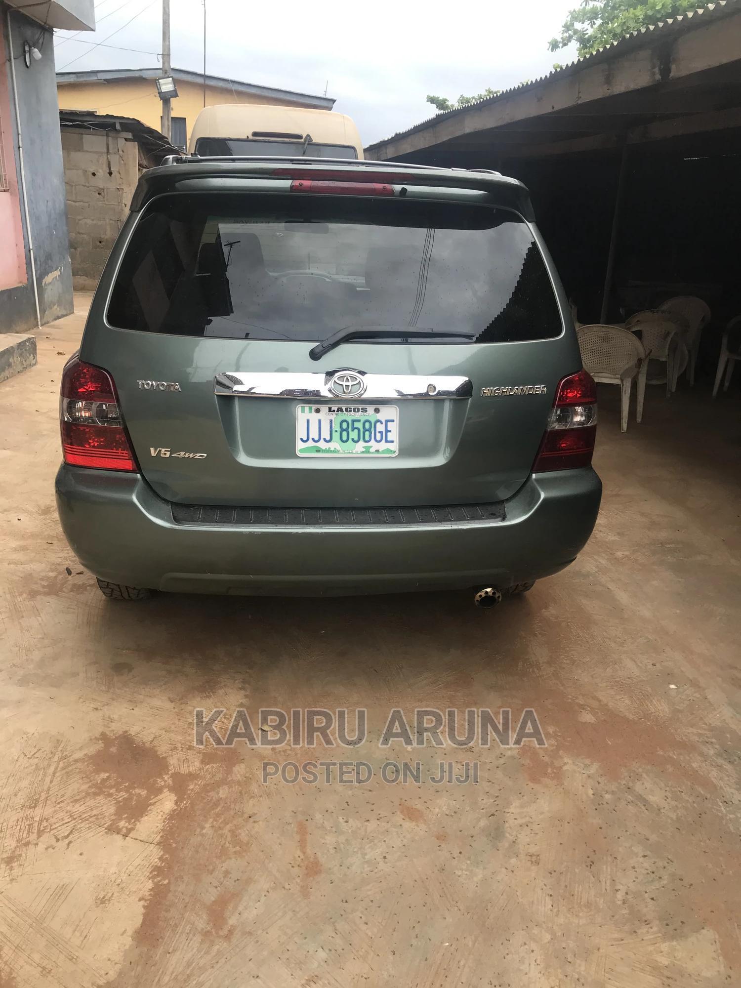 Toyota Highlander 2007 Green | Cars for sale in Sagamu, Ogun State, Nigeria