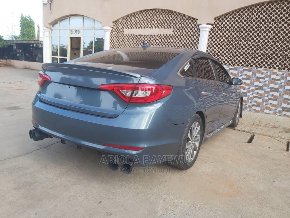 Hyundai Sonata 2015 Blue   Cars for sale in Jikwoyi, Abuja (FCT) State, Nigeria