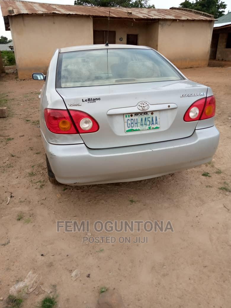 Toyota Corolla 2004 LE Silver   Cars for sale in Orelope, Oyo State, Nigeria