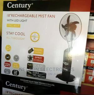 """Century 18"""" Rechargeable Water Mist Fan With Remote Control 