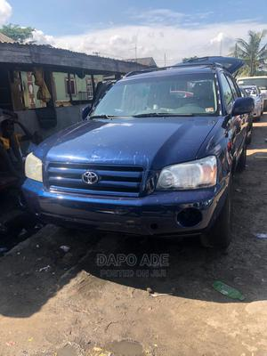 Toyota Highlander 2004 V6 AWD Blue | Cars for sale in Lagos State, Apapa