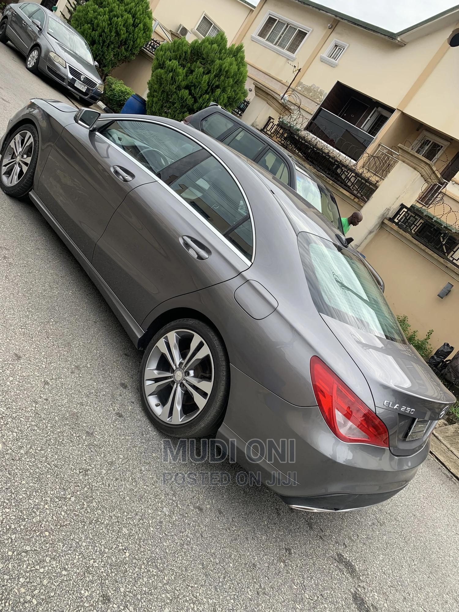 Mercedes-Benz CLA-Class 2015 Gray | Cars for sale in Ikeja, Lagos State, Nigeria