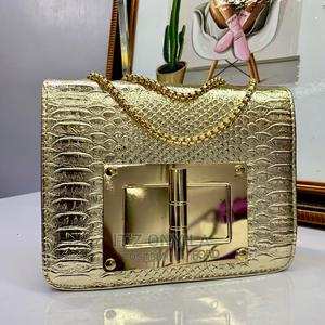 Gold Quality Leather Handbag | Bags for sale in Lagos State, Ikeja
