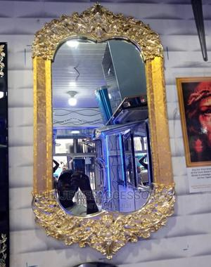 Fancy Gold Wall Mirror | Home Accessories for sale in Lagos State, Ojo