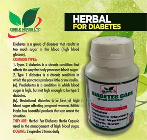 Diabetes Herbal Capsule   Vitamins & Supplements for sale in Lagos State, Surulere