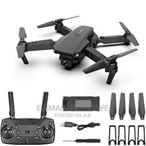 E88 4k Emotion Pocket Drone Surveillance | Photo & Video Cameras for sale in Abuja (FCT) State, Wuse
