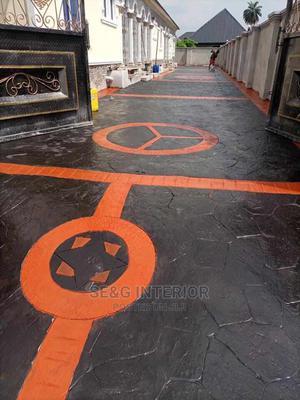 Concrete Stamp Floor | Garden for sale in Lagos State, Ikeja