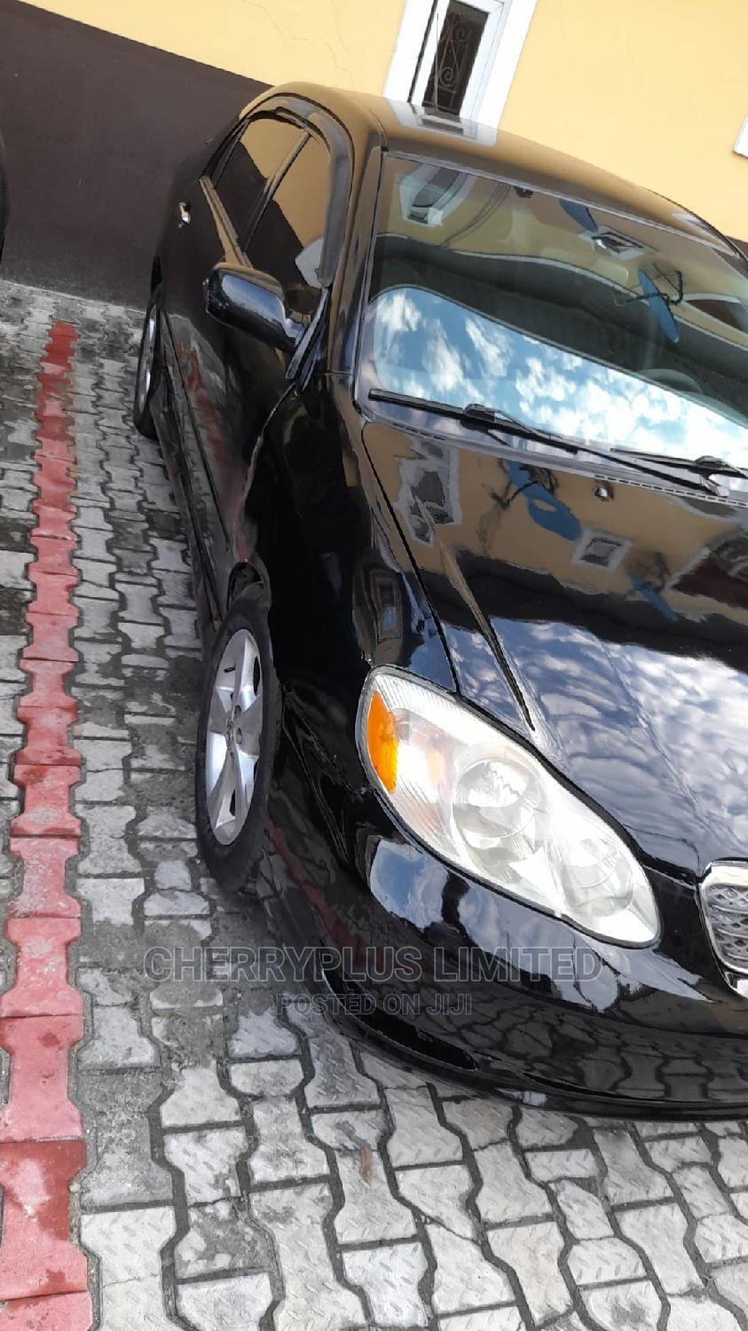 Toyota Corolla 2005 Black   Cars for sale in Port-Harcourt, Rivers State, Nigeria