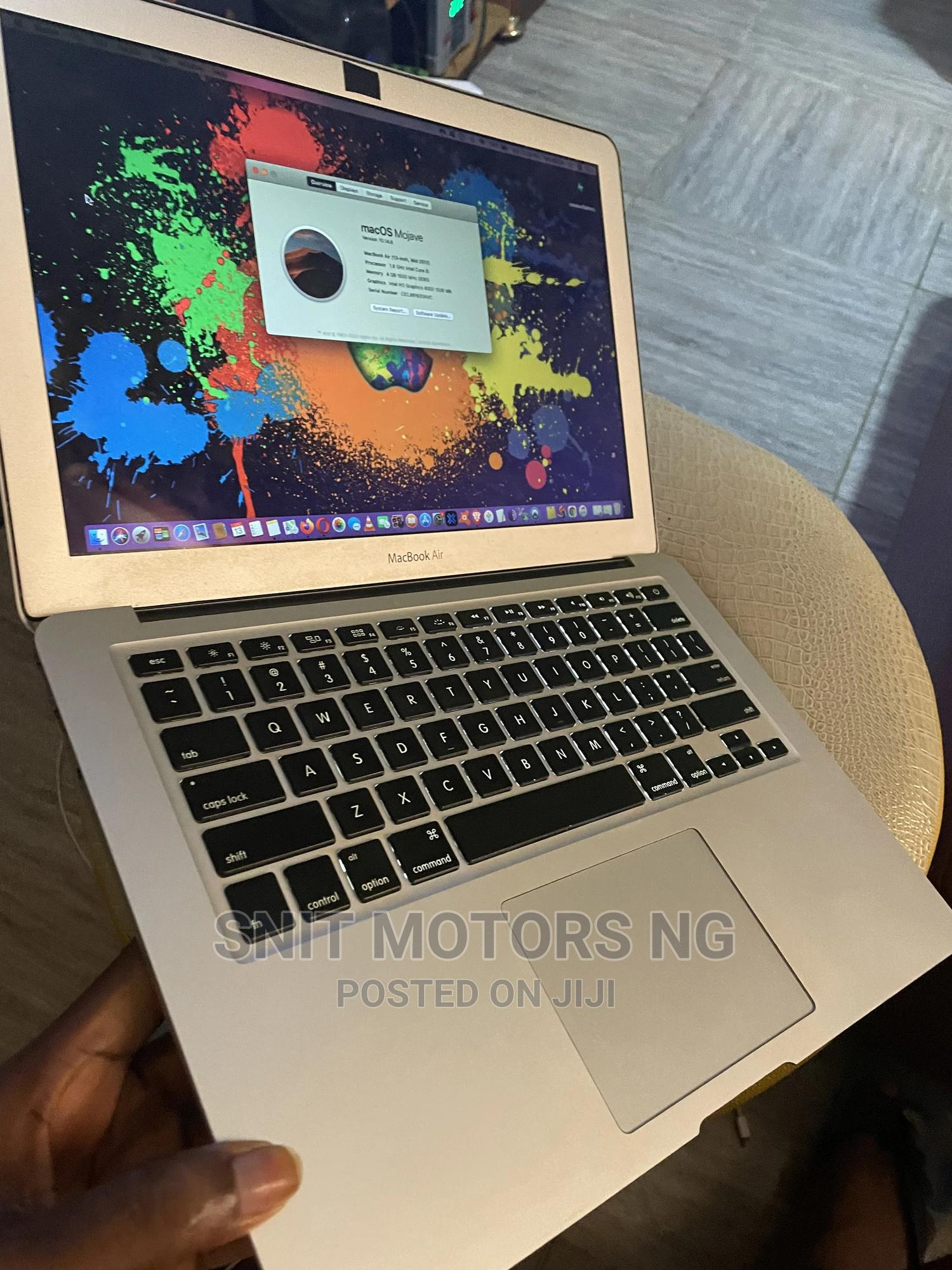 Archive: Laptop Apple MacBook Air 2012 4GB Intel Core I5 256GB