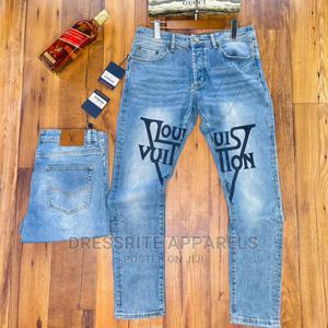 Louis Vuitton Original Designer Jeans Trousers   Clothing for sale in Lagos State, Lagos Island (Eko)