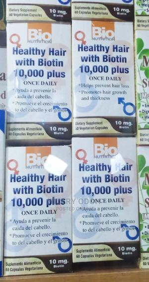 Bio Nutrition Healthy Hair With Biotin 10000 Plus   Vitamins & Supplements for sale in Lagos State, Ojo