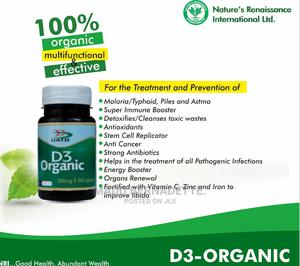 UATD D3 Organic Supplements | Vitamins & Supplements for sale in Imo State, Owerri