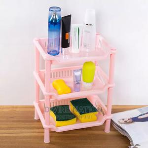3 Tier Plastic Corner Organizer Bathroom   Home Accessories for sale in Lagos State, Lagos Island (Eko)