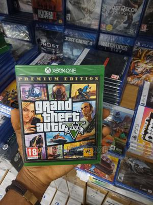 Xbox One-Xbox Series X GTA V   Video Games for sale in Lagos State, Ikeja