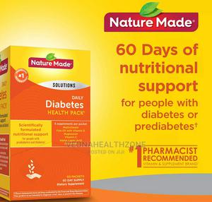 Nature Made Diabetes Health Pack 60 Packets 2 Months Supply | Vitamins & Supplements for sale in Lagos State, Ikoyi
