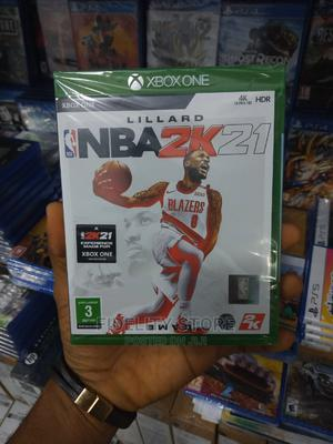 Xbox One-Xbox One Series X Nba2k21 | Video Games for sale in Lagos State, Ikeja