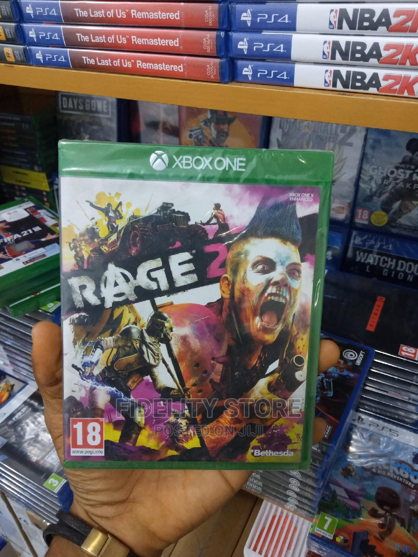 Xbox One-Xbox One Series X Rage 2