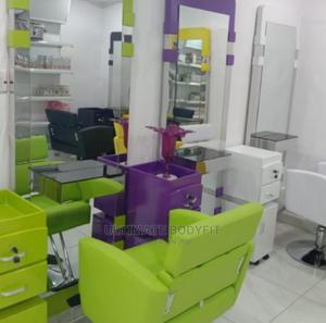 Brand New Mirror, Chair With Cabinet   Salon Equipment for sale in Lagos State, Surulere