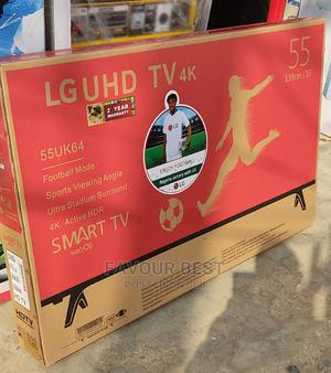 """2021>LG Uhd Smart 4k (55""""Inch) Netflix Youtube App + Mount   TV & DVD Equipment for sale in Lagos State, Ojo"""