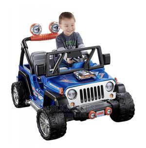Power Wheels Hot Wheels Jeep Wrangler 12V Ride-On | Toys for sale in Lagos State, Isolo