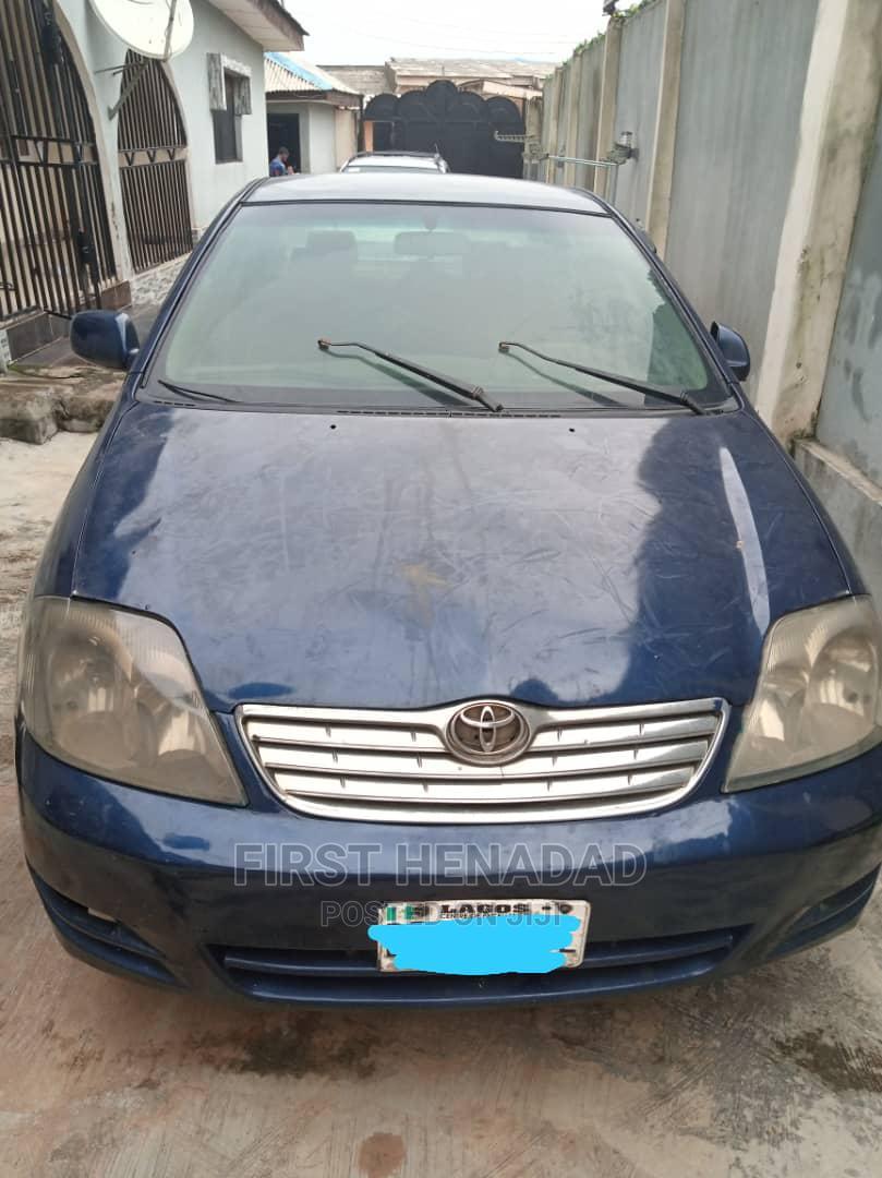 Archive: Toyota Corolla 2003 Verso Blue